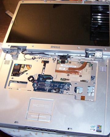 Корпус Dell XPS без клавиатуры