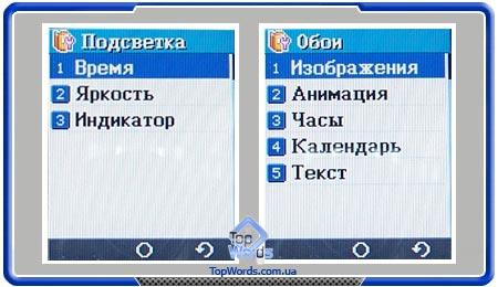 Тест VK Mobile VK4000 :: Дисплей и интерфейс